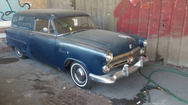 1952 Ford Courier Sedan Delivery For Sale In San Luis