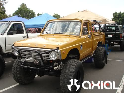 Ford Courier 4x4 Pickup Truck Conversion For Sale