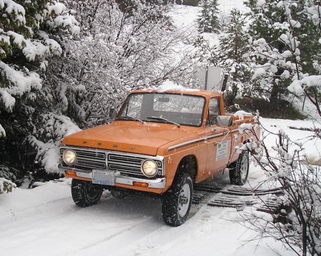 Ford Corpus Christi >> Ford Courier 4X4: Pickup Truck Conversion For Sale | Sasquatch, Brahma